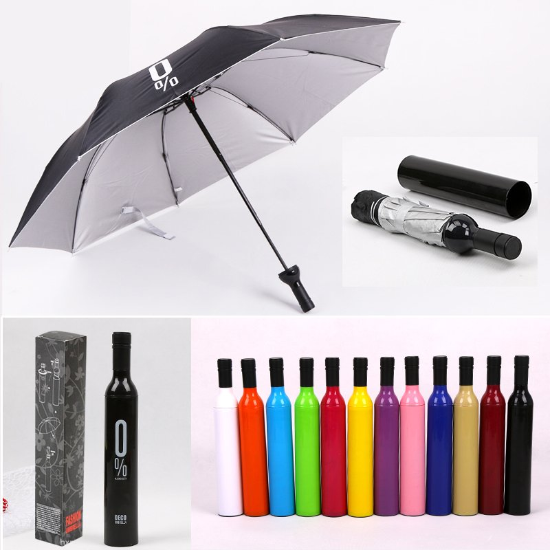 umbrella in bottle