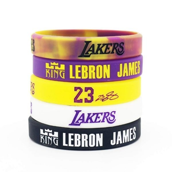NBA rubber adjustable wristbands Kobe Bryant